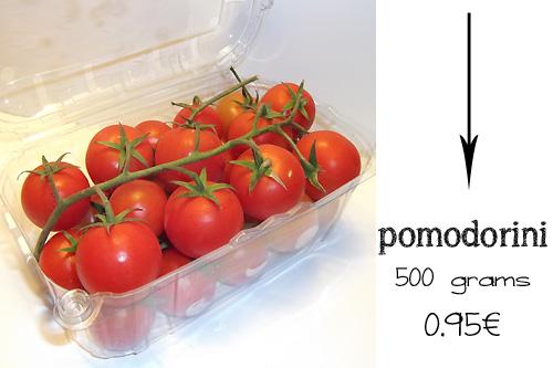 pomodorini 500 grams