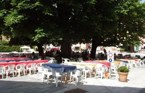 Sagra delle Ciliegie in Piazza Doria