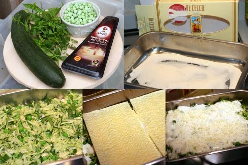 Veggie lasagna a la Green Team