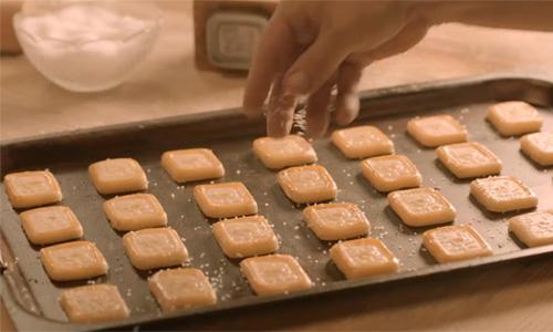 Guarda questi biscotti!