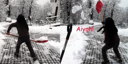 Big Snow February shovel