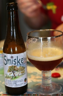 Belgian dark ale. Hints of chocolate, caramel, and spices.