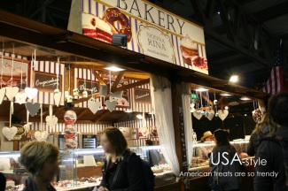American-style bakery