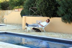 Poolside at La Muccheria